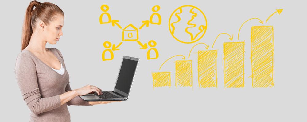 Promocione su negocio a través de internet con SU PROPIA PÁGINA WEB
