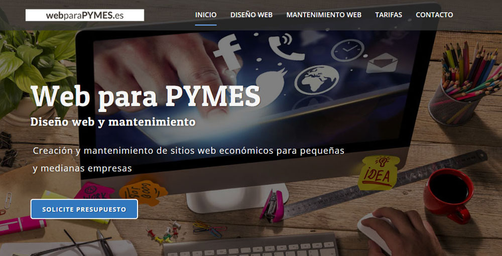 Web para pymes
